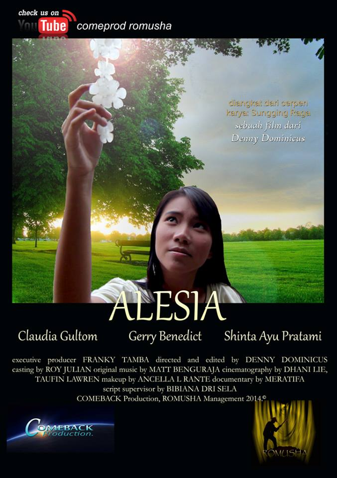 Alesia Film Pendek Dan Proses Kreatif By Sungging Raga